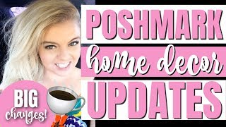 NEW POSHMARK HOME DECOR MARKET GUIDELINES UPDATE | WHAT YOU CAN SELL ON POSHMARK JUNE 2019