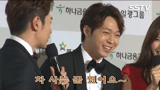 """[SSTV] '대종상영화제' 박유천(Park Yu Chun), 신인남우상 수상 """"차 사는 꿈 꿨어요~"""""""