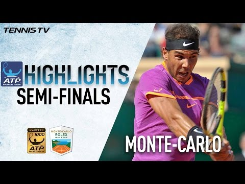 Nadal Ramos Vinolas Set Up Spanish Final In Monte-Carlo 2017 Highlights