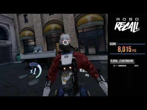 Robo Recall on Oculus Touch