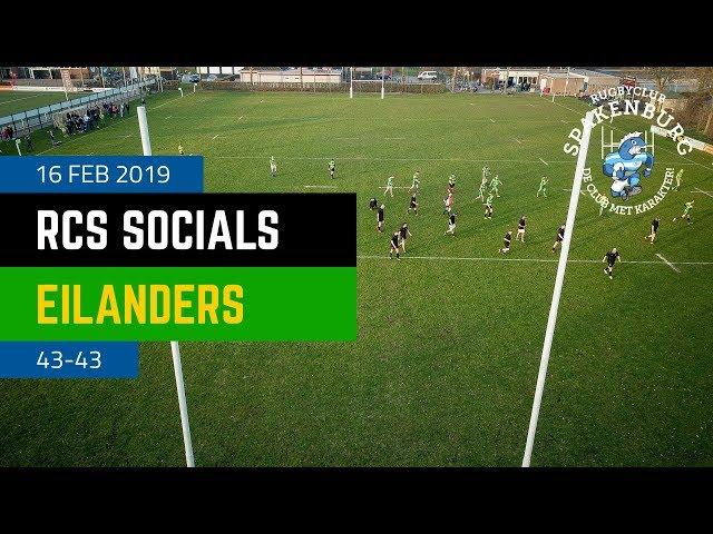 RCS Socials - EFRC Eilanders | 43-43 | 4K