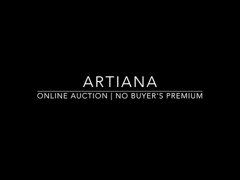 ARTIANA Sale 1801 - South Asian Art - Online Auction - No Buyer's Premium - May 10-14, 2018