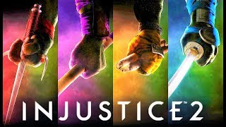INJUSTICE 2 - Top 3 NEW PREMIER SKINS DLC for Fighter Pack 3