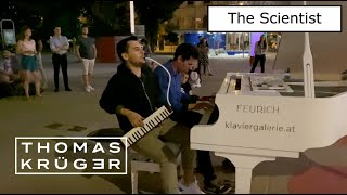 The Scientist (Coldplay) – Amazing Street Music With Piano \u0026 Melodica – THOMAS KRÜGER \u0026 OMAR ALTAYI
