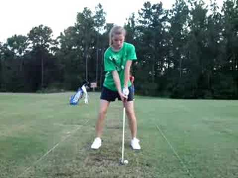 Abbie Harris Golf Swing 1