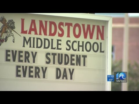 Landstown Middle School teacher accused of assaulting student
