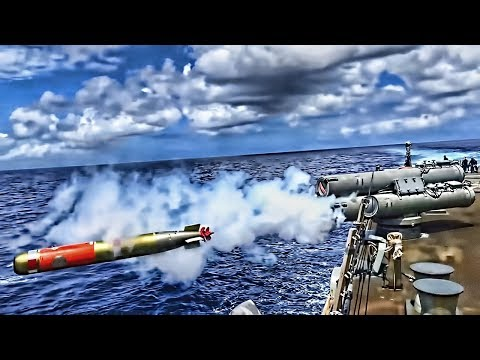 How the U.S. Navy Launches Anti-Submarine Torpedoes from Ships