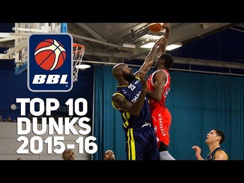 BBL Top 10 Dunks 2015-16 Season! TrayVonn Wright, Jordan Williams, TJ Johnson & More!