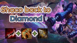 Shaco Jungle Back To Diamond [League Of Legends] Full Gameplay - Infernal Shaco