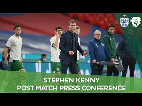 PRESS CONFERENCE | Stephen Kenny on the 3-0 defeat to England