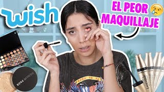 TRYING FREE MAKEUP PRODUCTS FROM WISH! False again? 😒 | Claudipia