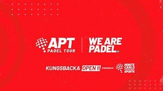APT - Kungsbacka Open 2 - Semifinales