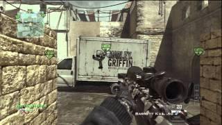 Mw3:Sniper Gameplay Commentary (German) mit der Barrett & Mw3-Turnier Info