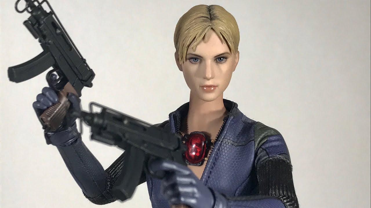 Hot Toys Vgm13 Resident Evil 5 1 6 Jill Valentine Battle Suit Ver Review