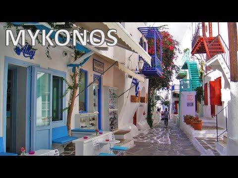 MYKONOS ISLAND - Greece [HD]