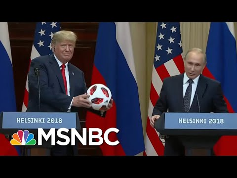 Soccer Ball From Vladimir Putin Had An Electronic Chip | All In | MSNBC