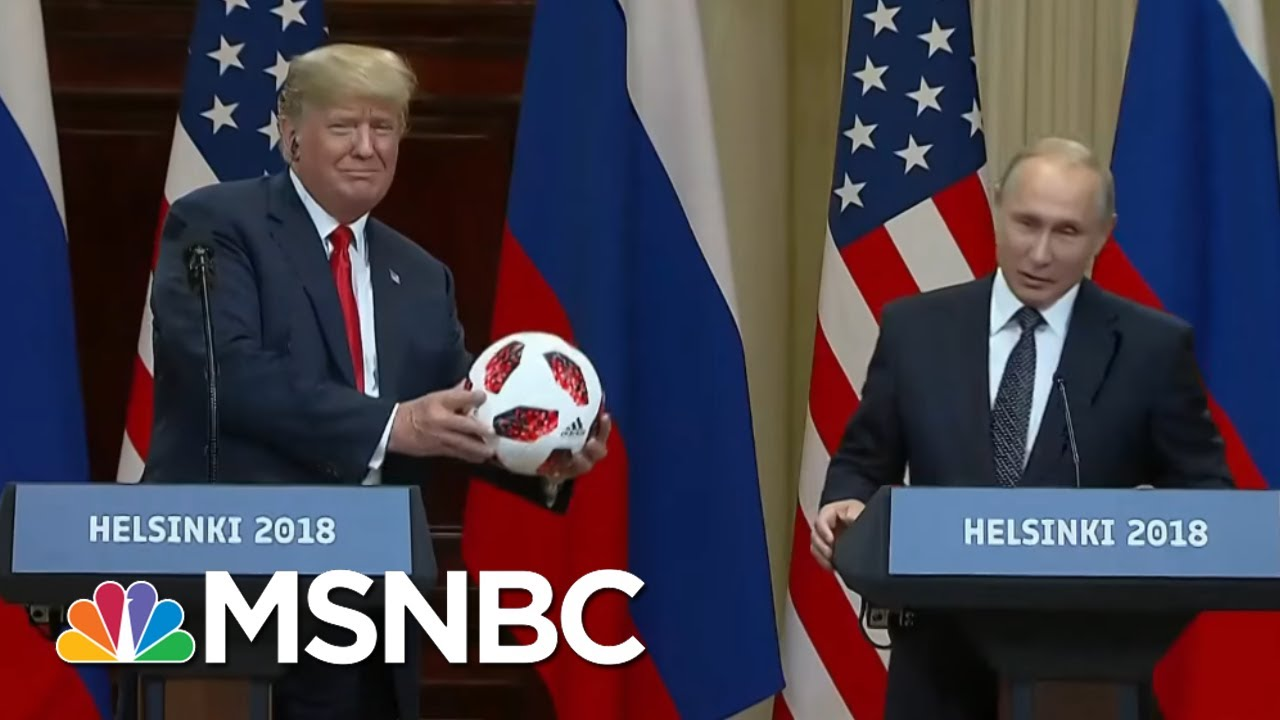 6741792eb Soccer Ball From Vladimir Putin Had An Electronic Chip   All In   MSNBC
