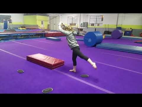 How to do an aerial cartwheel with drills