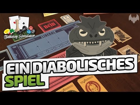 Ein DIABOLISCHES Spiel - ♠ Tabletop Simulator: Secret Hitler ♠ - Dhalucard