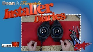 We continue on a Chevrolet Truck with some Alpine SPT 31GM speakers  Installer Diaries 167 part 2