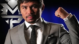 Manny Pacquiao Day One of Training for Pacquiao Bradley 3