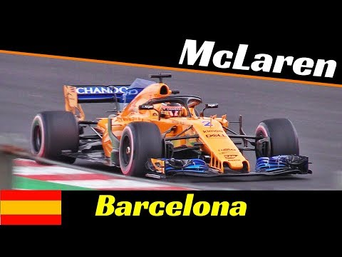 McLaren MCL33 Formula One [F1] - 2018 Official Pre-Season Tests - Montmelò (Barcelona) Highlights