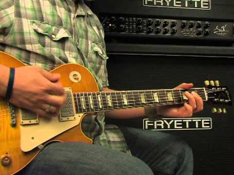 Fryette Sig:X video review demo Guitarist Magazine