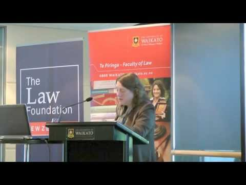 NZ Law Foundation 2014 Distinguished Visiting Fellow Professor Jane C. Ginsburg