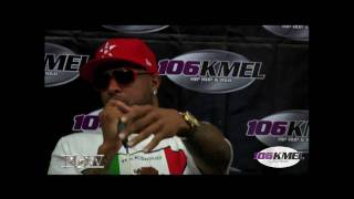 Slim Thug interview with Big Von of 106 KMEL Radio