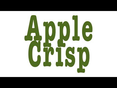 The Best Apple Crisp Recipe Ever and it's VEGAN
