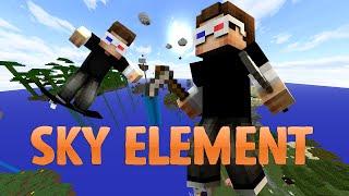 ÇOK BÜYÜK BİR MACERA BAŞLIYOR! - Minecraft SKY ELEMENT! - Bölüm 1