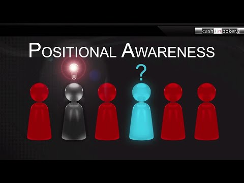 Positional Awareness in Poker: Optimal Poker Strategy - by Cashinpoker.com