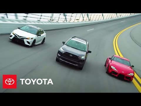 Team Toyota Takes Over Daytona | Toyota