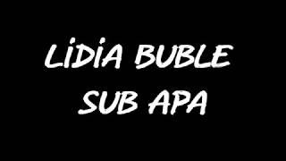 Lidia Buble - Sub apa (Versuri)