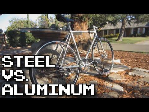 Steel vs. Aluminum Frames