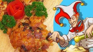 Куриные рубленые котлеты с сыром, чтобы не думать, что приготовить на ужин.