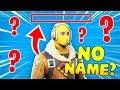 Having NO NAME In Fortnite!? (Funny Fortnite Teammate Trolling)