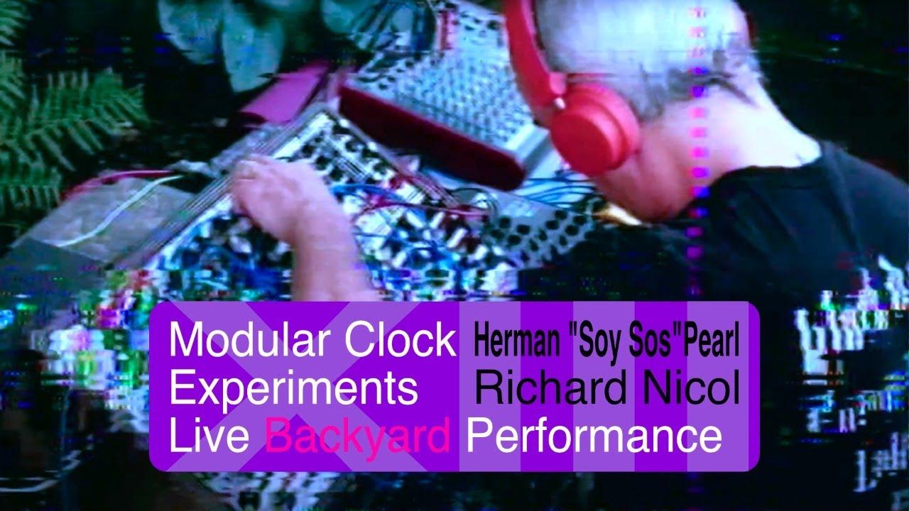 Modular Clock Experiment 13 Live Performance