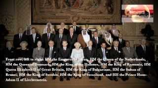 HM Queen Elizabeth II World Sovereign Monarch Lunch at Windsor Castle May 18 2012