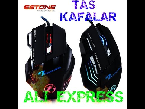 Aliexpress'ten Gelenler (Gaming Mouse) Video:2