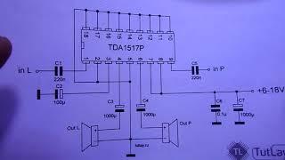 Нет звука телевизор Rolsen замена TDA1517P