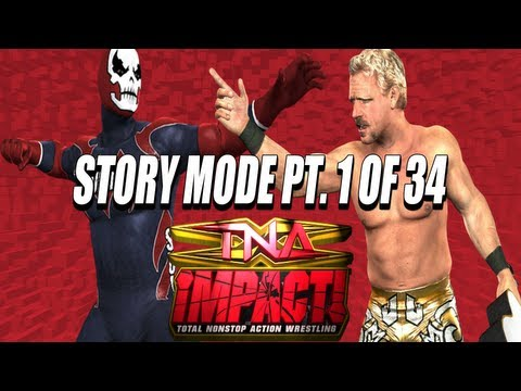TNA iMPACT! (Video Game) PS2 Storymode Part 1 of 34