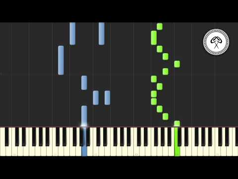 Alt-J - Breezeblocks Piano Tutorial & Midi