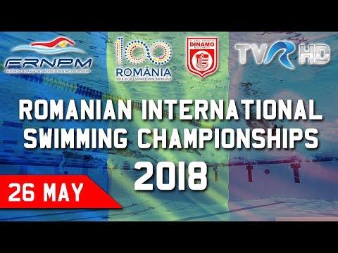 26 May (Finals 17:00EET) Romanian International Swimming Championships 2018 - Live Streaming