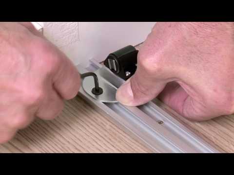 Ykario Installation Porte De Placard Pivotante Youtube