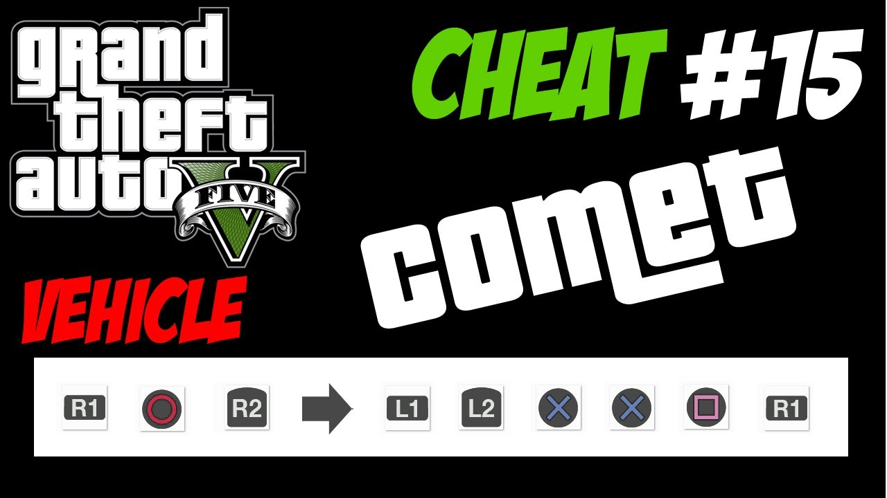 gta 5 trucchi 15 comet ps3 xbox 360 hd ita cheat