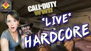 🔴  Call of Duty WW2 HARDCORE PS4 PRO LIVE STREAM | CoD WWII GAMEPLAY 🔴  TheGebs24