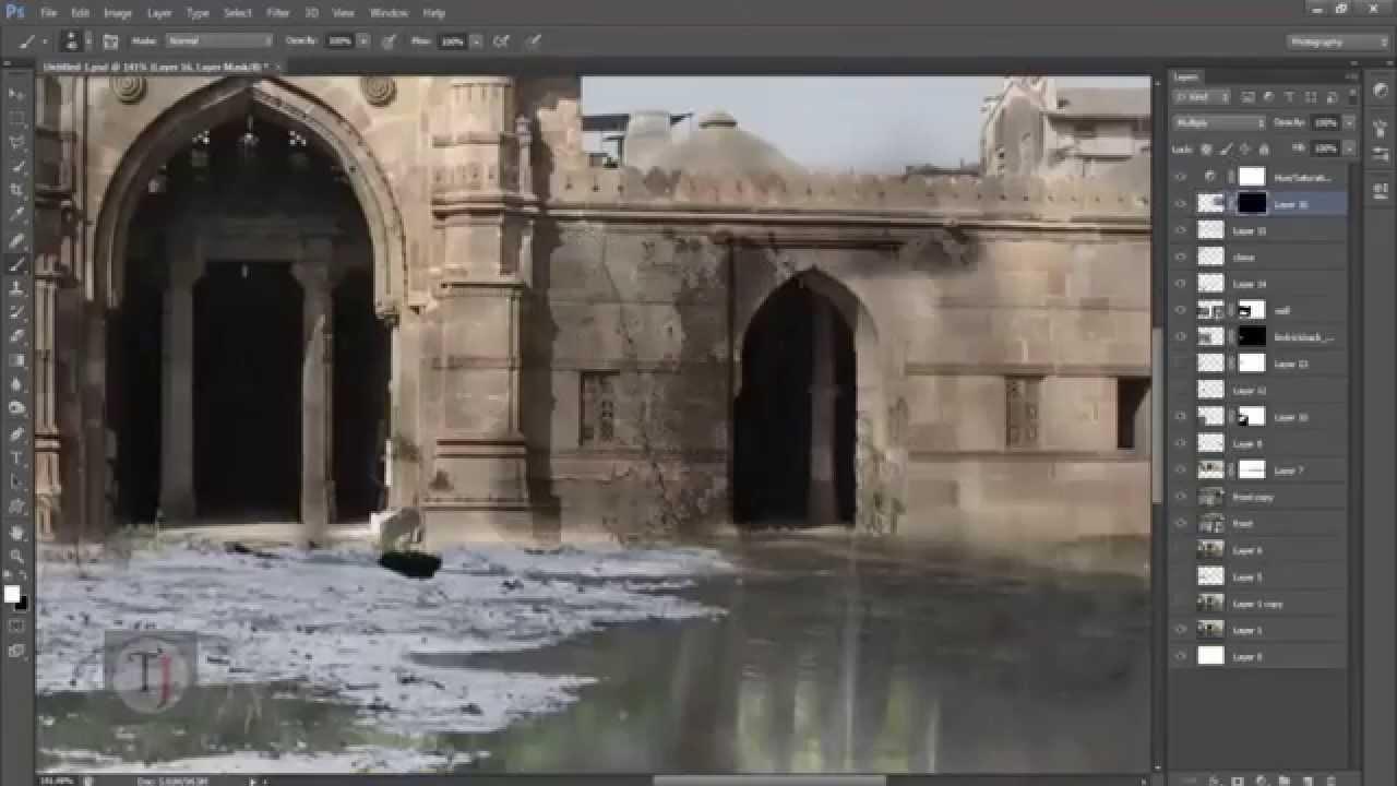 Matte painting photoshop tutorial speedart youtube matte painting photoshop tutorial speedart baditri Choice Image