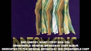 Ben Harney, When I First Saw You, 1981 Dreamgirls