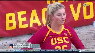 Pepperdine at USC - NCAA Women's Beach Volleyball (Feb 28th 2018)